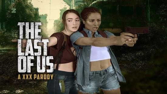 VRCosplayX - Ellie and Riley - THE LAST OF US Ellie and Riley Threesome in VR XXX Parody (UltraHD 2K/1440p/444 MB)