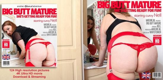Mature.nl - Nel (EU) (45) - Big Booty mature Nell shows off her naughty side (FullHD/1080p/1.22 GB)