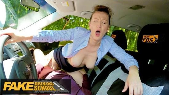 FakeDrivingSchool - Emylia Argan - Female Instructor demands that her pussy is eating to calm herself own (FullHD/1080p/265 MB)
