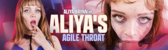 Throated - Aliya Brynn - Aliya's Agile Throat (FullHD/1080p/1.36 GB)