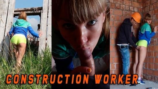 SashaBikeyeva - Sasha Bikeyeva - She was caught by a Construction worker when she masturbated - EN SUBTITLES (FullHD/1080p/164 MB)