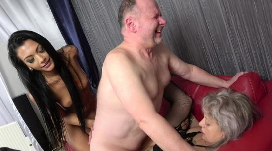 GrandParentsX/Passionxxx - Veronique, Adelle Sabelle - First time sex with old couple (FullHD/1080p/2.65 GB)