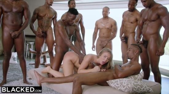 BLACKED - Lena Paul - Lena Paul first interracial gangbang (FullHD/1080p/274 MB)