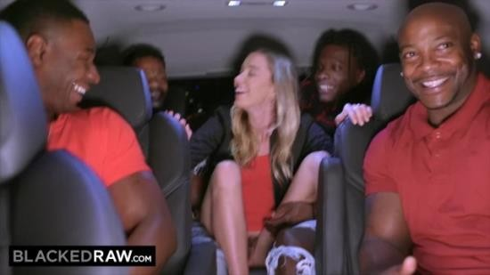 BLACKEDRAW - Haley Reed - Teen gets passed around and fucked by group of BBCs (FullHD/1080p/198 MB)