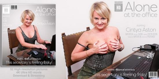 Mature.nl - Cintya Aston (EU) (51) - Alone at the office, this mature secretary starts to feel herself up (FullHD/1080p/1.02 GB)
