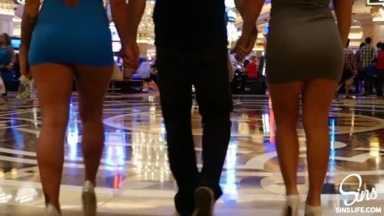 SinsLife - Keisha Grey, Kissa Sins - Ultimate Vegas Threesome (FullHD/1080p/839 MB)