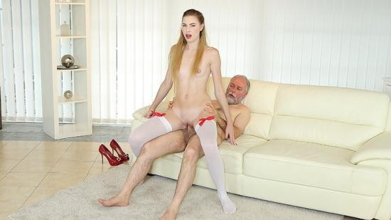 OldGoesYoung - Milena Devi - Cutie joins an old man for an anal fuck (UltraHD/4K/2160p/2.48 GB)