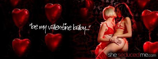 SheSeducedMe - Jessie Saint, Judy Jolie - Be My Valentine (FullHD/1080p/2.13 GB)