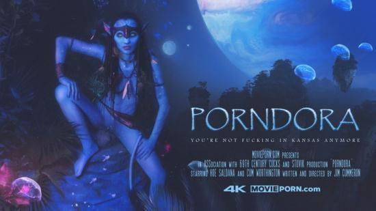 MoviePorn - Hoe Saldana - Porndora (FullHD/1080p/396 MB)