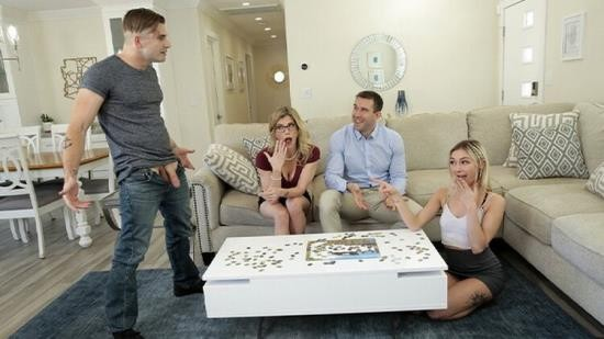 FamilySwapXXX - Cory Chase, Chloe Temple - To Swap Stepmom this is probably Helping Chloe from not Fucking the whole Football Team! S1:E1 (FullHD/1080p/448 MB)