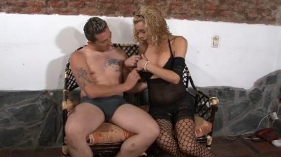 TSJapan - Enjy - Blonde Tgirl Enjy a Hard Dick up in her Ass (FullHD/1080p/396 MB)