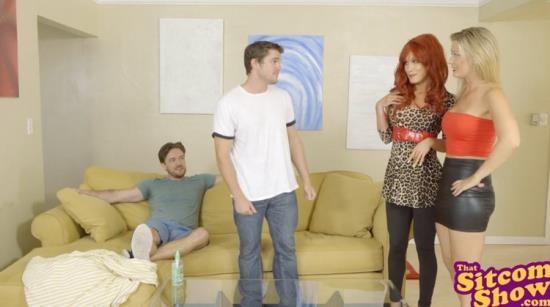 ThatSitcomShow - Addison Lee, Jennifer White - Peggy & Kelly want Cock, who Gets Creamed!? S1:E4 (FullHD/1080p/349 MB)