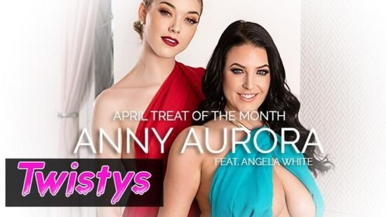 Twistys - Angela White, Anny Aurora - Skinny Blonde Anny Aurora Worships Angela Whites Big Natural Tits (FullHD/1080p/250 MB)