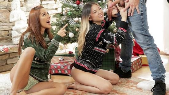 BrattySis - Vanna Bardot, Lulu Chu - To Step Sis how would you Feel if I Rubbed my Dick all over the Candy Canes and you Ate Them?! (FullHD/1080p/400 MB)