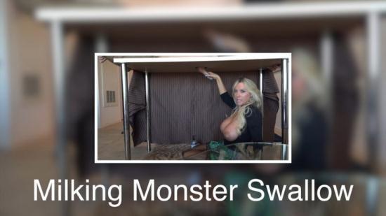WifeysWorld - Sandra Otterson - Monster Milking Swallow (HD/720p/618 MB)