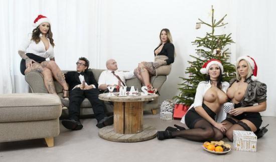 BumsBuero/PornDoePremium - Jolee Love, Lilli Vanilli, Mia Blow - German babes Jolee Love, Lilli Vanilli in Christmas group sex affair Pt.1 (FullHD/1080p/1.11 GB)