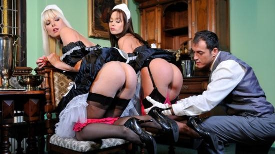 DorcelClub/Dorcel - Cindy Dollar, Lena Cova - TWO MAIDS HAVING FUN WITH THE BUTLER (HD/720p/194 MB)