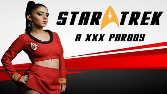 VRCosplayX - Aysha X - Busty Latina Aysha X as Uhura wants your Cum on her Face in STAR TREK a XXX (UltraHD 4K/2160p/1.05 GB)