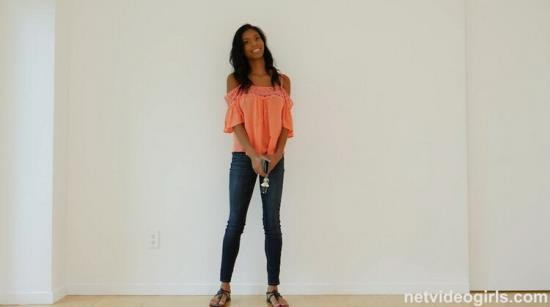 NetVideoGirls - Nia Nacci - Sex Deprived 18 Year old Black Girl Showed up at the right Audition (FullHD/1080p/1.16 GB)