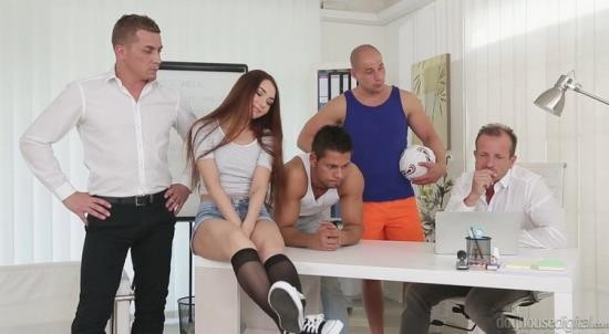DoghouseDigital - Stacy Snake - Tiny Russian Brunette Stacy Snake Gangbanged, Double Penetrated (FullHD/1080p/590 MB)