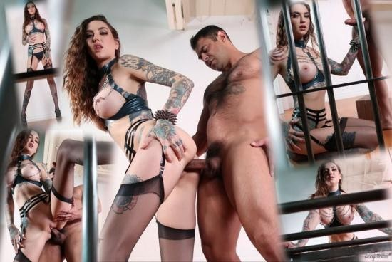 FemdomEmpire - Rocky Emerson - Amazon''s Caged Cuckold (FullHD/1080p/804 MB)