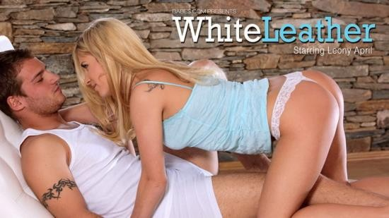 Babes - Leony April - White Leather (HD/720p/501 MB)