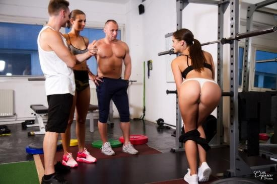 LittleCaprice-Dreams - Little Caprice, Jenifer Jane - We Cum To You Part 2 - Gym (FullHD/1080p/1.38 GB)
