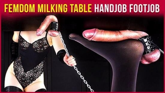 Pornh - Era - Femdom Milking Table – Handjob and Footjob Teasing Games Era (HD/720p/123 MB)