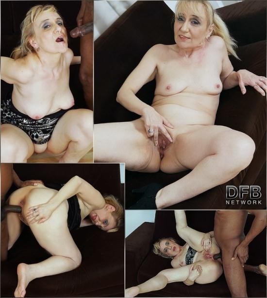 DFBnetwork - Monique aka Nanney - Granny Gets Cum In Her Mouth (HD/720p/1.14 GB)