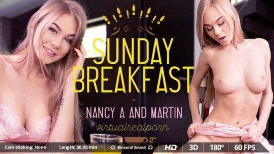 VirtualRealPorn - Nancy A - Sunday breakfast (UltraHD 2K/1600p/4.21 GB)