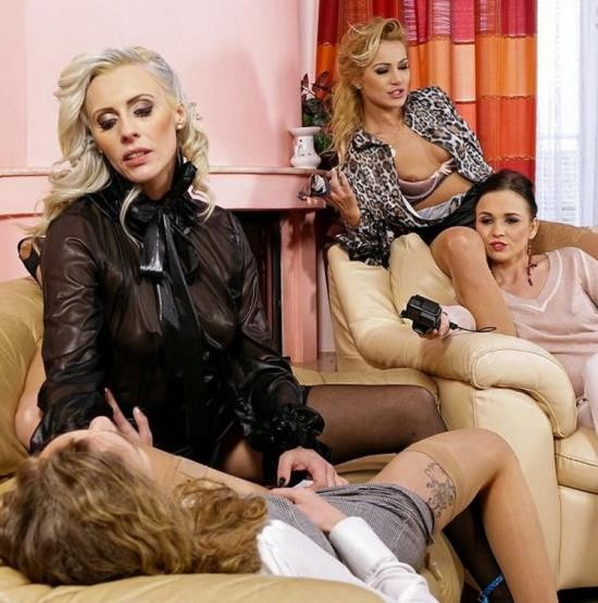Upperclassfuckfest.com/SinDrive.com - Ally Style, Britany Bardot, Cherry Kiss, Angel Emily, Tiffany Tatum - All About That Group Ass! Gape It, Taste It, And Fist The Fuck Out Of It! (FullHD/1080p/1.92 GB)