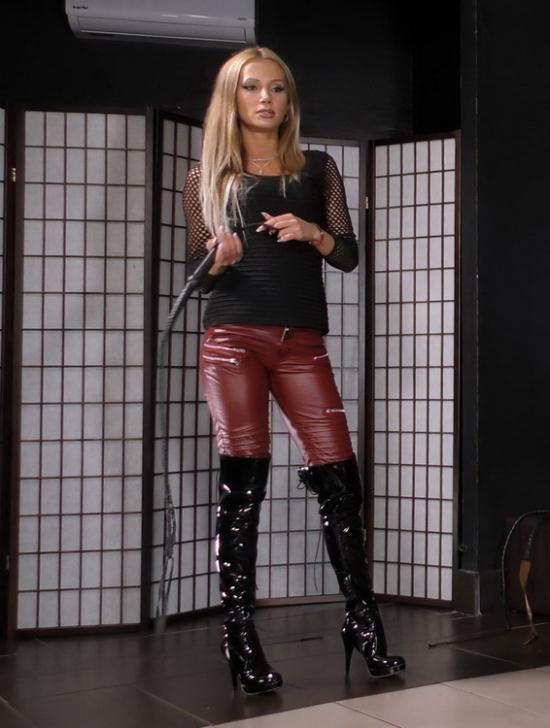 CruelAmazons/Cruel-Mistresses - Mistress Tatjana - TATJANA'S STRICTS WHIPPING (FullHD/1080p/604 MB)