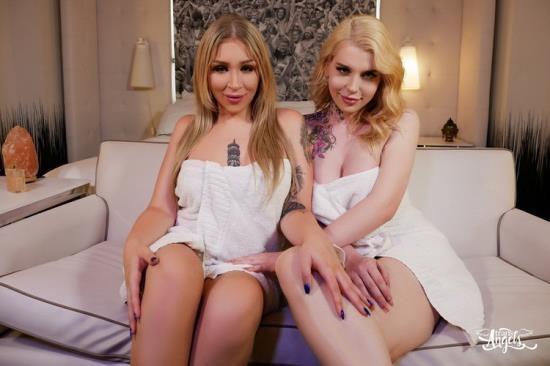 TransAngels - Angelina Please, Gracie Jane - Spa Day With My Bestie (FullHD/1080p/1.37 GB)
