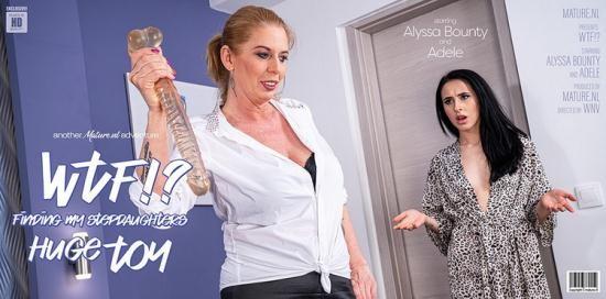 Mature.nl - Adele (42), Alyssa Bounty (21) - Hot Alyssa Bounty catches her stepmom with her huge dildo (FullHD/1080p/1.81 GB)