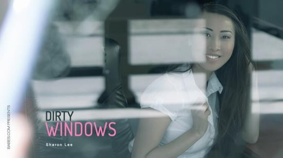 OfficeObsession/Babes - Sharon Lee - Dirty Windows (SD/360p/135 MB)