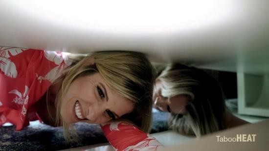 TabooHeat/Clips4Sale - Nikki Brooks, Cory Chase - Busty Step-Mom Is Stuck Again - Stuck Under The Bed With Aunt Cory (HD/720p/966 MB)