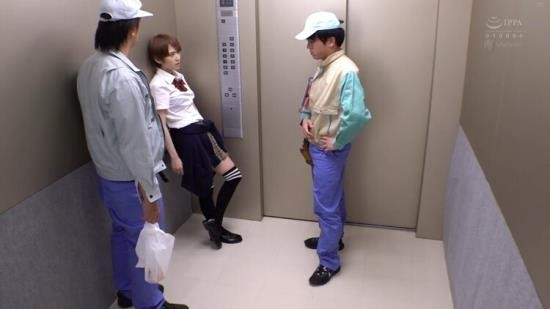 WANZFACTORY - Shiina Sora - Elevator Emergency Stop, Closed Room Panic (HD/720p/991 MB)