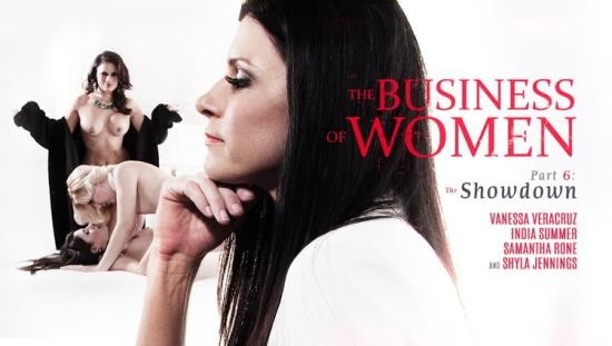 GirlsWay - Shyla Jennings, Vanessa Veracruz, Samantha Rone, India Summer - The Business of Women Part Six: The Showdown (FullHD/1080p/1.41 GB)