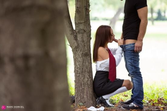 DorcelClub - Lea Guerlin - Teen Lea gets banged by a stranger in the woods (FullHD/1080p/469 MB)