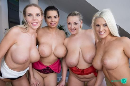 CzechVR - Blanche Bradburry, Chloe Lamour, Crystal Swift, Florane Russell - Heaven is Big Tits (Czech VR 277) (UltraHD 2K/1440p/4.12 GB)