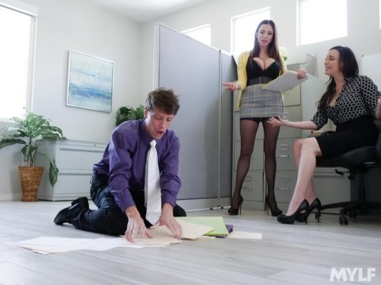 MylfBoss/MYLF - Ariella Ferrera, Dana Dearmond - Executive Office Creampies (SD/480p/466 MB)