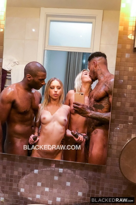 BlackedRaw - Cherry Kiss, Kira Thorn - Couldnt Wait (SD/480p/674 MB)