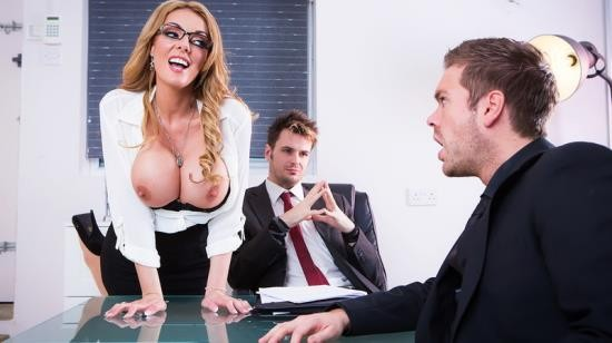 BigTitsAtWork/Brazzers - Stacey Saran - The Firm and the Fanny (SD/480p/463 MB)