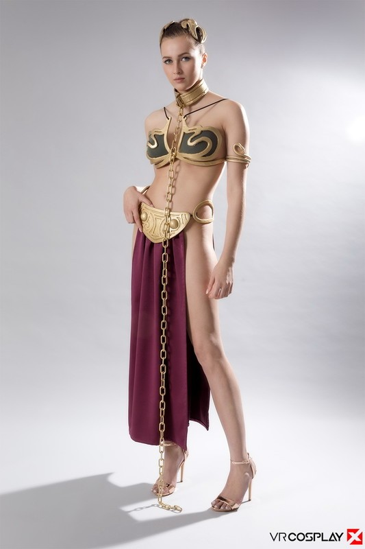 Vrcosplayx - Stacy Cruz - Star Wars: Slave Leia A XXX Parody (HD/960p/3.26 GB)