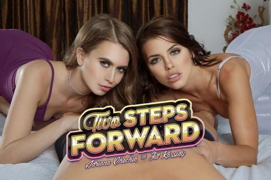 BaDoinkVR - Adriana Chechik, Jill Kassidy - Two Steps Forward (UltraHD 2K/1440p/3.54 GB)