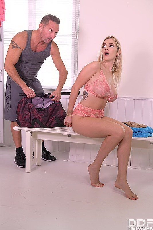 HouseOfTaboo/DDFNetwork/PornWorld - Marica Chanelle - Anal Sex In The Gym Locker Room (FullHD/1080p/1.26 GB)