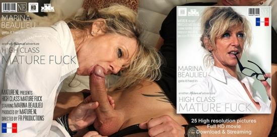 Mature.nl/Mature.eu - Marina Beaulieu - Classy MILF gets a hard fuck in the afternoon (FullHD/1080p/1.27 GB)