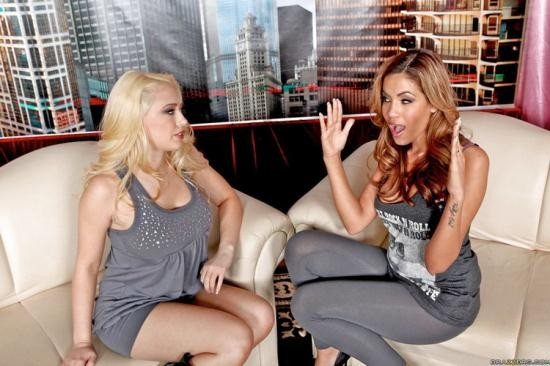 PornstarsLikeitBig/BraZZers - Kagney Linn Karter, Isis Taylor - The Kagney Show ! (HD/720p/1.81 GB)