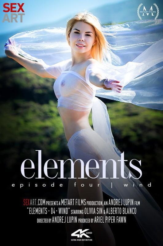 SexArt/MetArt - Olivia Sin - Elements Episode 4 - Wind (FullHD/1080p/1.29 GB)