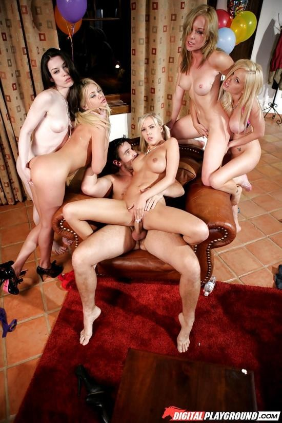 DigitalPlayground - Kayden Kross, Riley Steele, Jesse Jane, Stoya, BiBi Jones - Babysitters (SD/405p/401 MB)